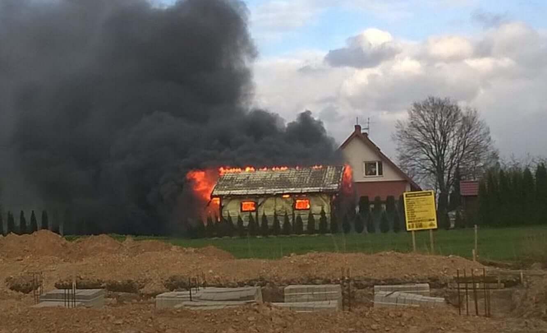 Pożar w Bogucinie